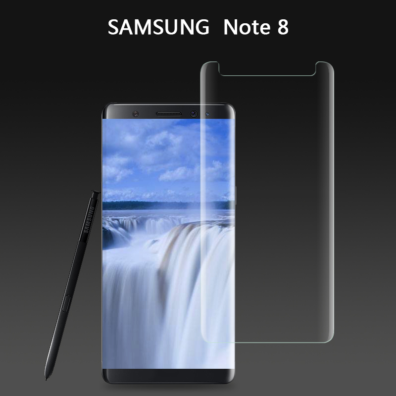 Glass Curved For Samsung Galaxy Note 8