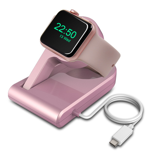 Integrated Magnetic Charger Portable Apple Watch Series 2 USB-C Charging Dock