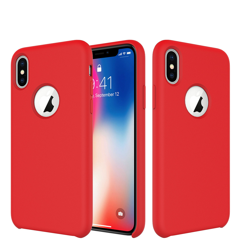 Original Silicone Case for iPhone X